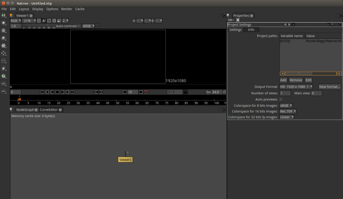 Natron, una alternativa de código abierto y multiplataforma a Adobe AfterEffect.