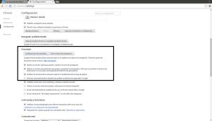 Configuración - Google Chrome_148