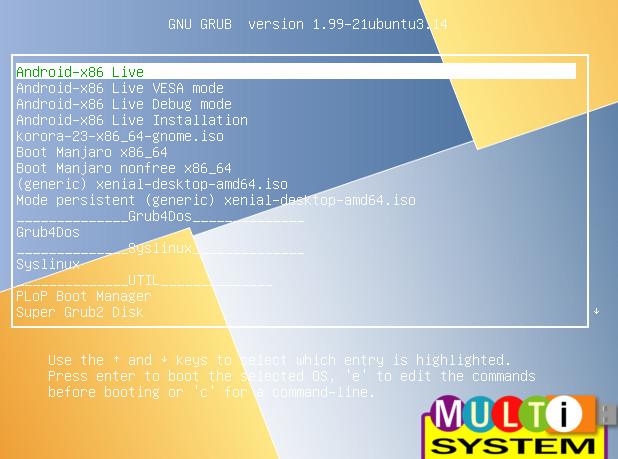 Multisystem, crea un pendrive para probar e instalar varias distribucionesLinux