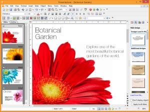 FreeOffice Presentation. Gentileza Softmaker