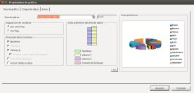 Asistente de creación de gráficos. FreeOffice Planmaker.