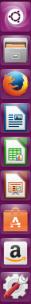 Barra de herramientas de Ubuntu 16.04 Xarus Xenial con el icono tradicional del centro de software.