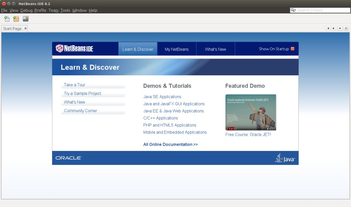 Instalar NetBeans IDE 8.2 en Ubuntu 16.10 Yakkety Yak yderivados