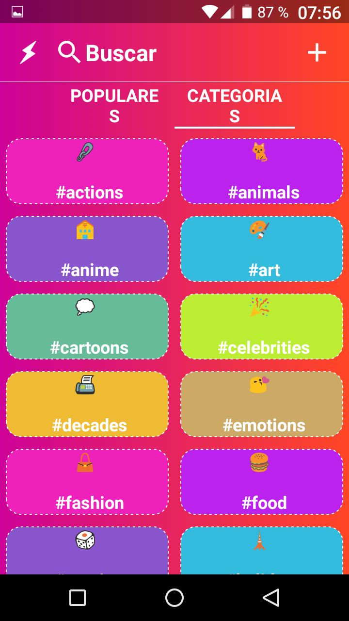 Crea videos para compartir a partir de gif animados y tu voz(Android)