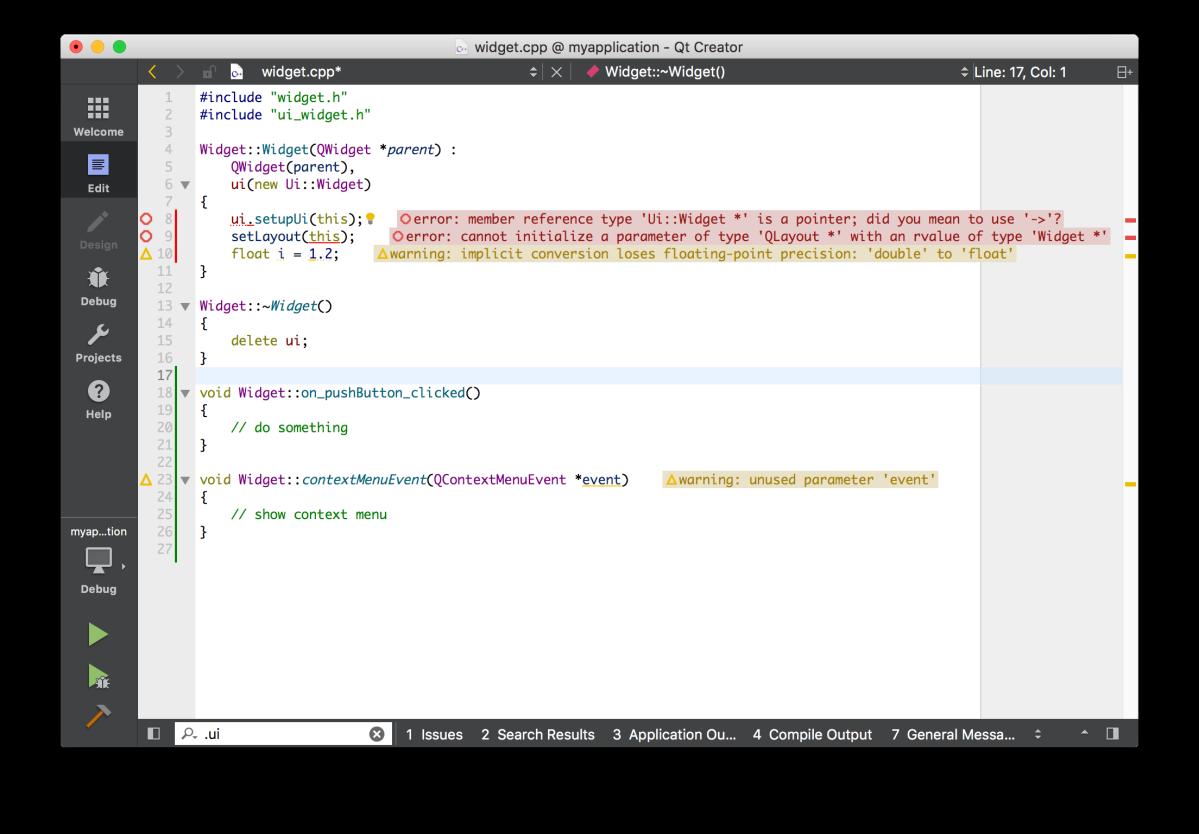 Qt Creator 4.4 Beta disponible para quienes deseenprobarla
