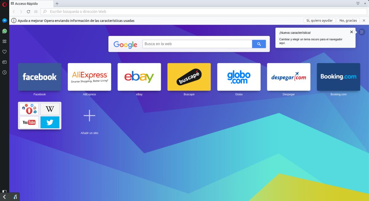 Instalar el navegador Opera  (Versiones Beta, Developer y Stable) en Ubuntu yderivado