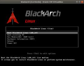 blackarch [Corriendo] - Oracle VM VirtualBox_001