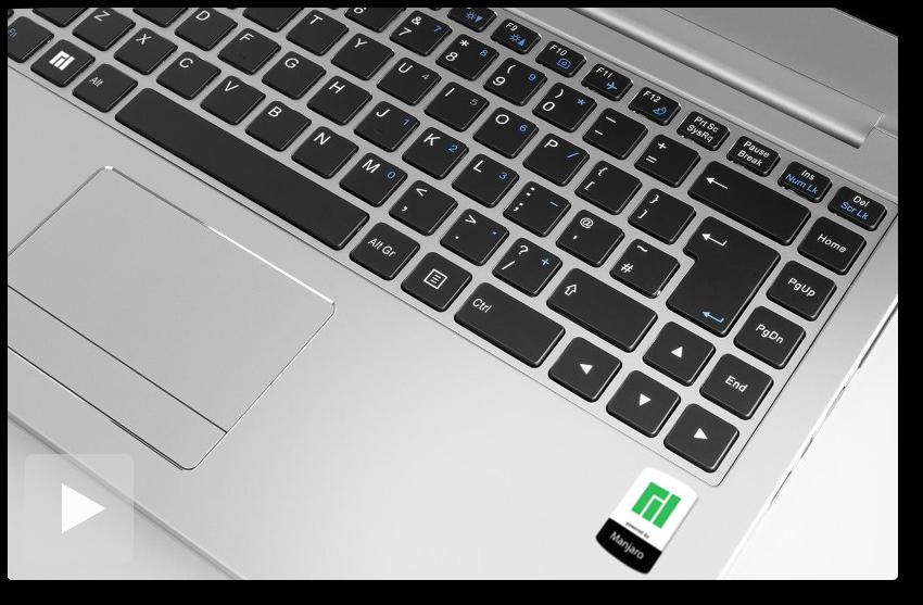 Manjaro Linux también tiene su propialaptop