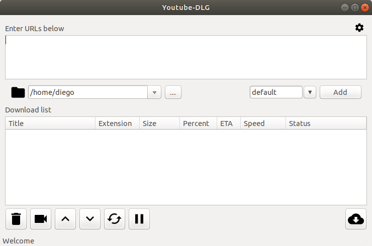 Interfaz gráfica para Youtube-dl en Ubuntu 16.04/17.04/17.10 yderivados
