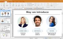 Programa de presentaciones de Softmaker Office 2018.