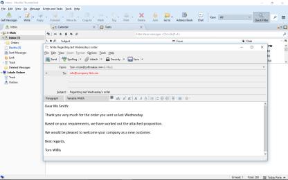 Cliente de correo electrónico Thunderbird