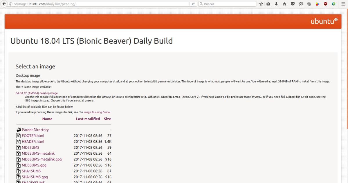 Comienzan las liberaciones diarias de las versiones de prueba de Ubuntu 18.04 BionicBeaver