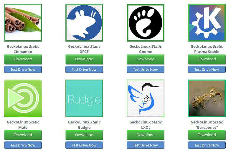 GeckoLinux. Una distro basada en openSuse pero másconfigurable.
