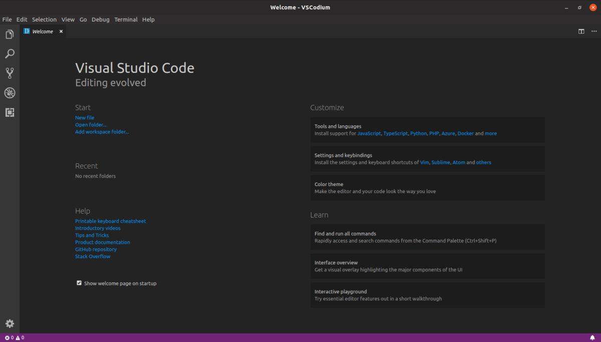 VSCodium, todas las prestaciones de VS Code sin que Microsoft sepa lo quehaces.